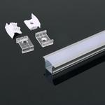 15 mm Led profiel  inbouw / opbouw  200 cm