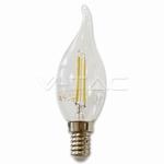 2W Kaars filament LED - NIEUW