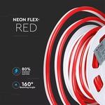 NEON FLEX ROOD 24V  100 cm