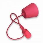 Silicone Armatuur hanglamp Rood