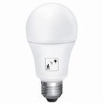 10W LED bulb met beweging en dag/nacht sensor