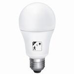 10W LED bulb met beweging + schemersensor