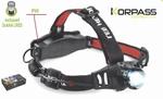 5W LED KORPASS runner pro elite hoofdlamp PRO
