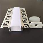 LED stucprofiel / Gips profiel  - voor twee ledstrips