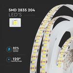 SMD2835 204 leds per meter 12V - LED STRIP 3000K / 4000K