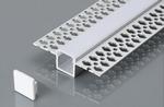 LED stucprofiel Gips profiel - voor een led strip 12,5 mm