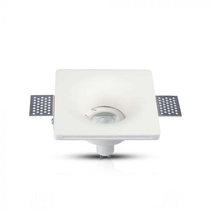 Trimless Inbouwspot GIPS - vierkant: Ø120x120x45mm