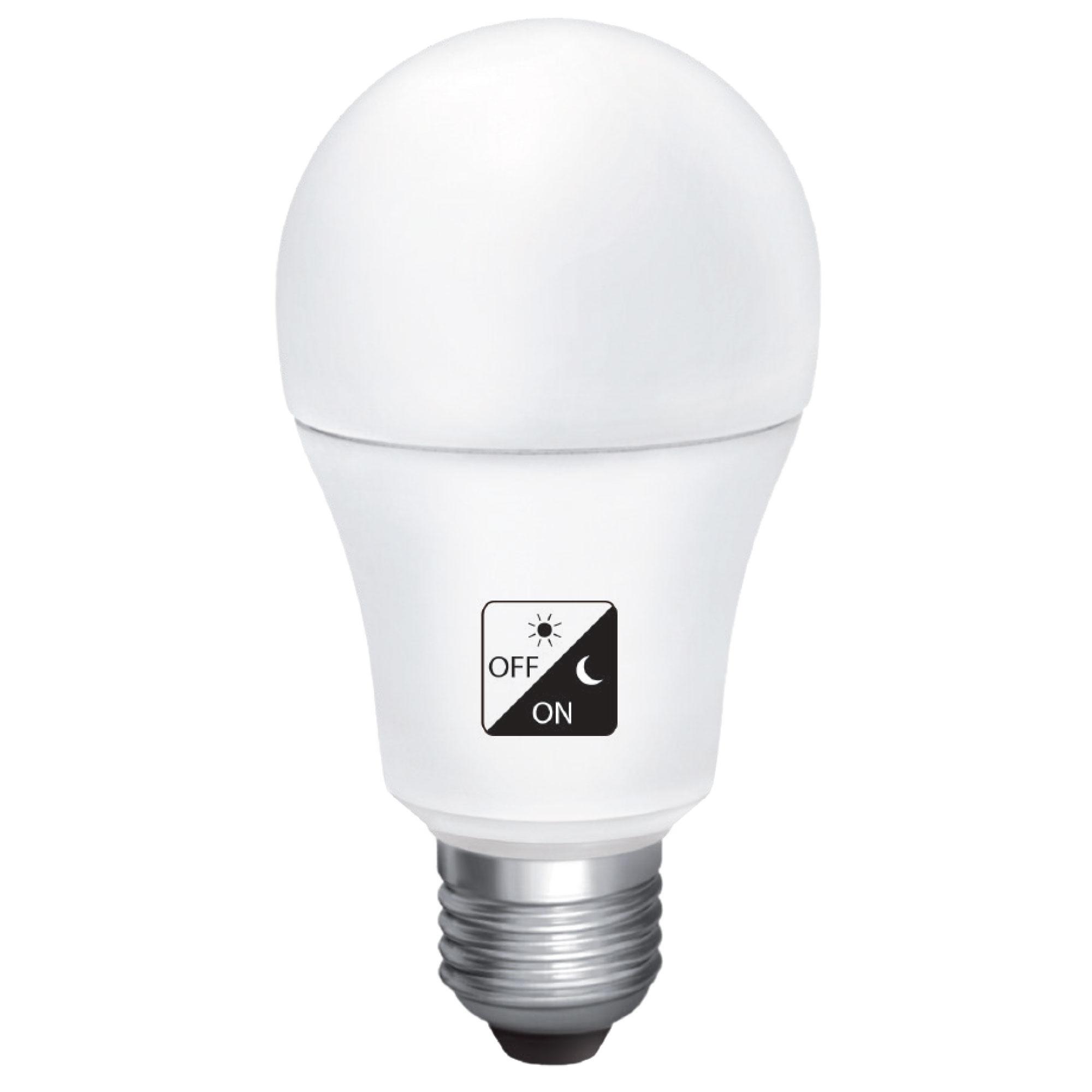 10W LED bulb met schemersensor dag /nacht