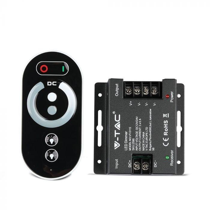 RF LED strip touch controler DC:12V/24V