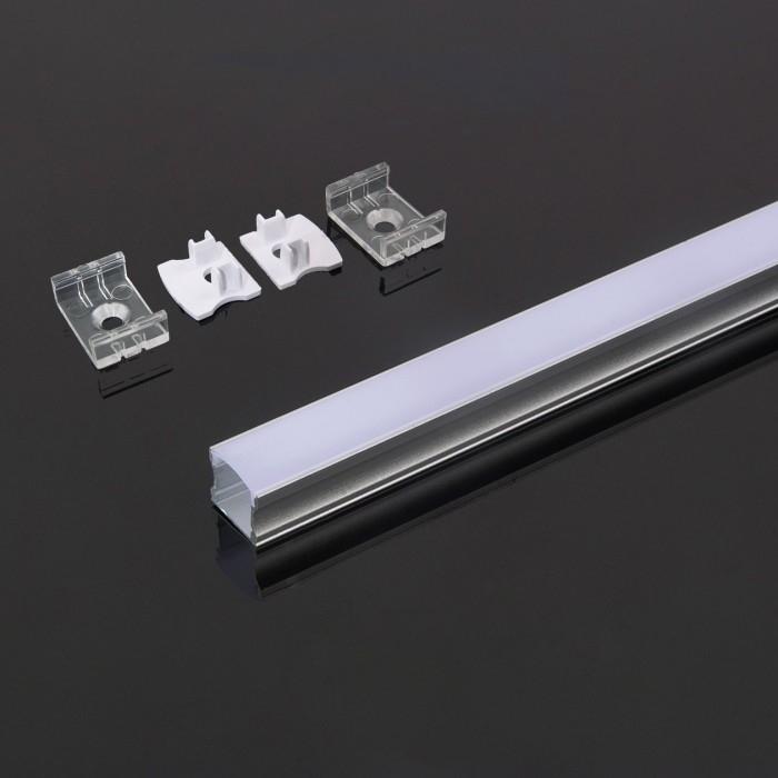 15mm led profiel  inbouw & opbouw