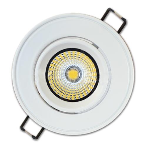 3W LED Downlight COB Rond 3000K 240 lm