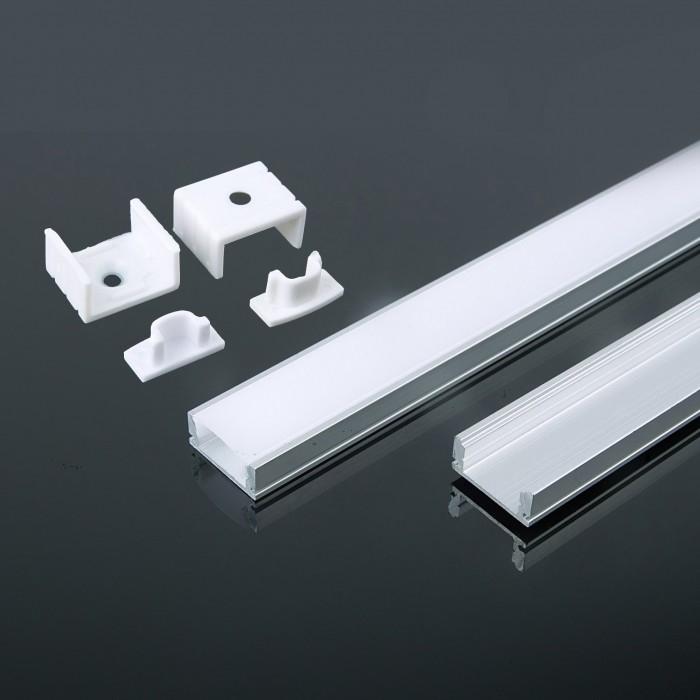 7mm LED profiel - voor led strip