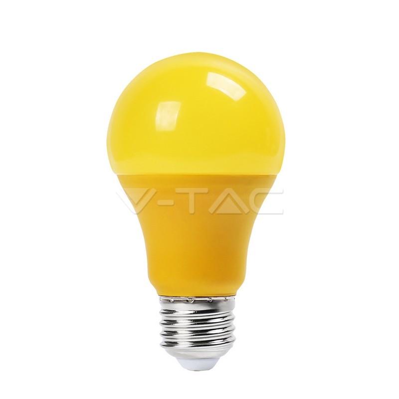 9W LED BULB Geel - 10 stuk pack E27