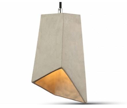 BETON hanglamp grijs