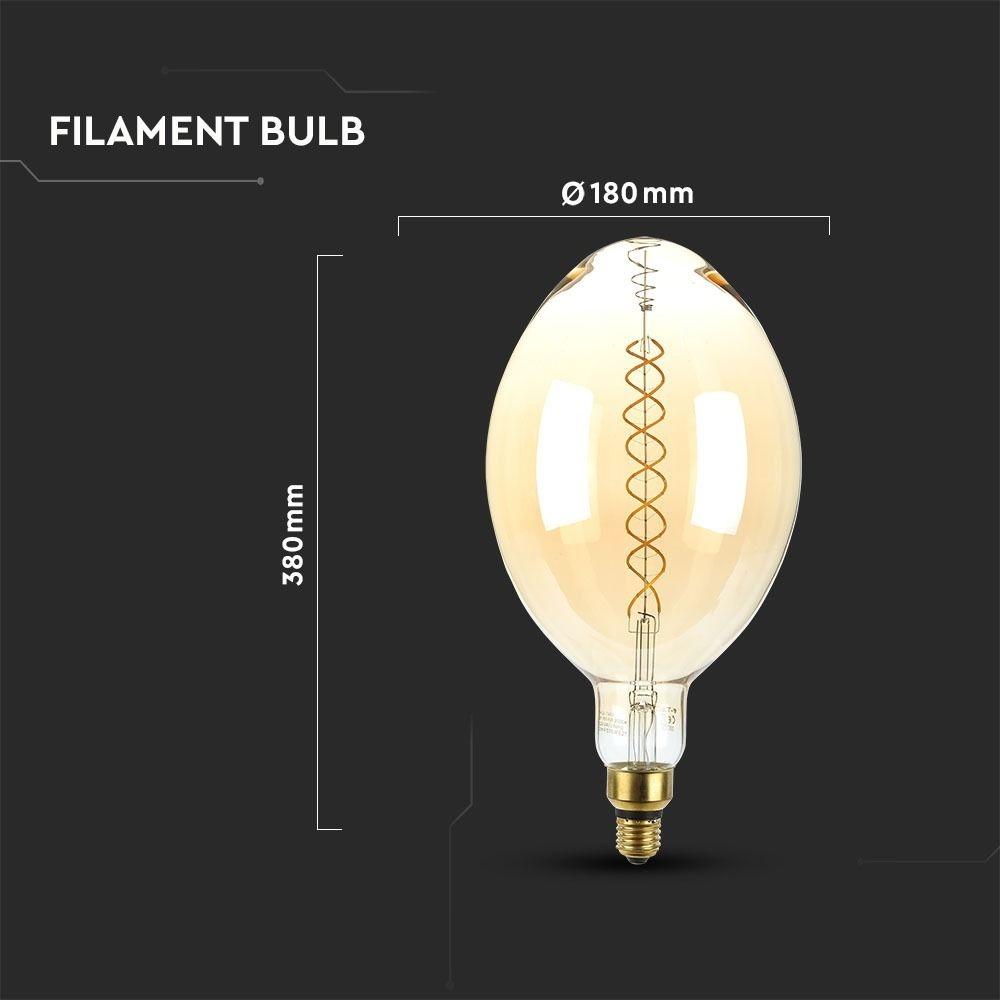 Caffe XXL Dimbare design LED Filament lamp - 8W