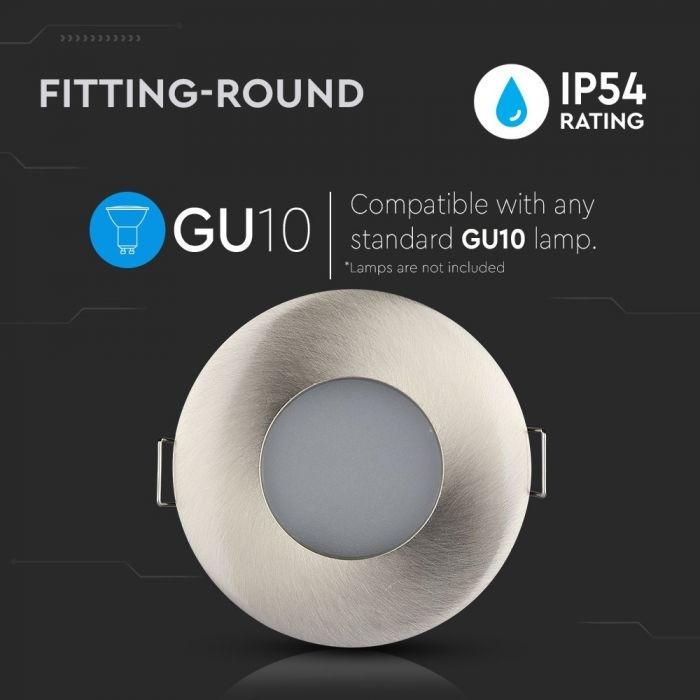 GU10 Inbouw armatuur IP54 waterdicht - Ø84x38mm