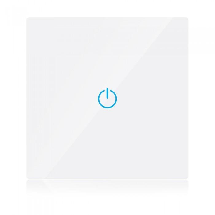 Inbouw Schakelaar Met Touch Sensor PC+GLAS WIT SMART