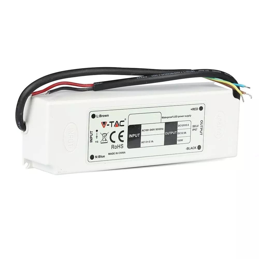 LED Omvormer 150W 12V 12.5A - IP67 waterdicht