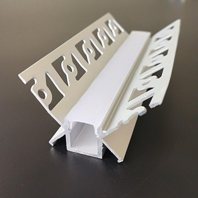 LED stucprofiel / Gips profiel  - BINNENHOEK