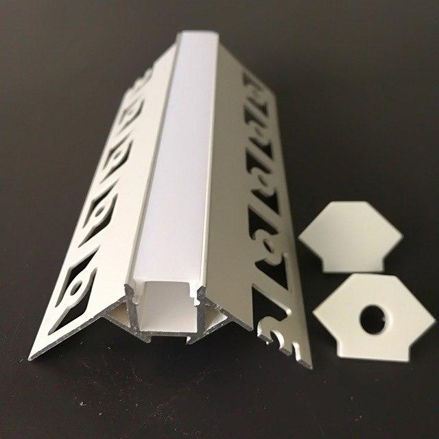 LED stucprofiel / Gips profiel  - BUITENHOEK