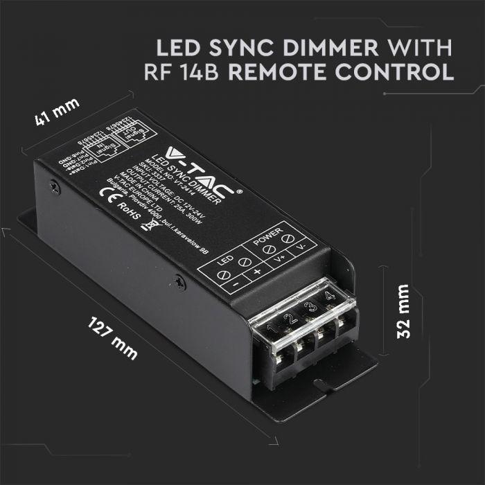 LED SYNC DIMMER RF 14B REMOTE CONTROL