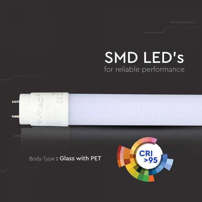 LED T8/G13 HIGH LUMEN buis 12W - 1920 lm, nanoplastic