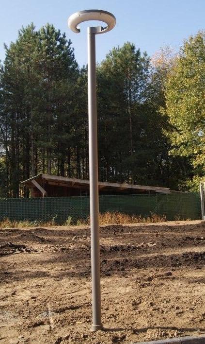 Moderne 30W led tuin paal IP67 - 220cm met 5 jaar garantie