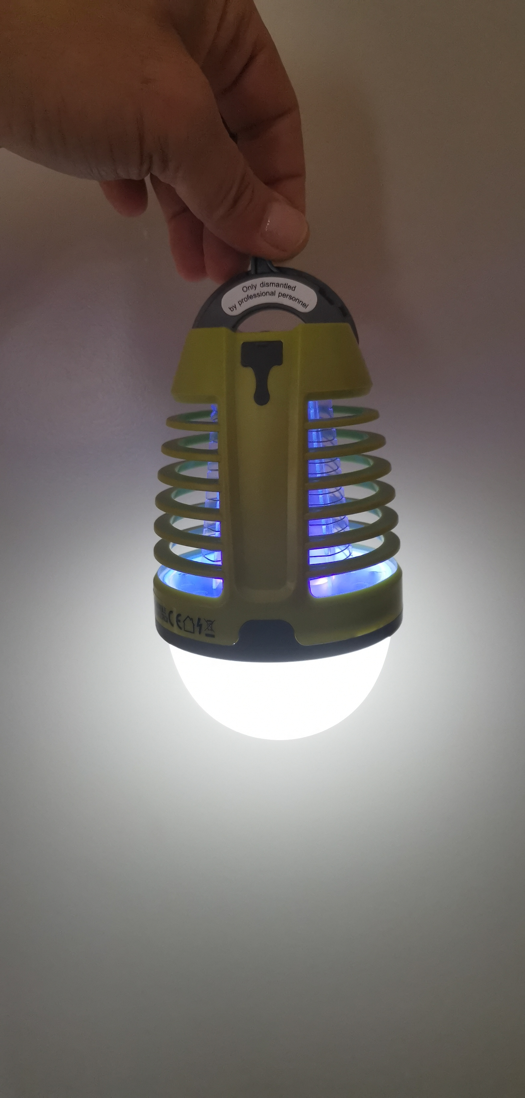 NIEUW LED tent en camping lamp - 2 in 1