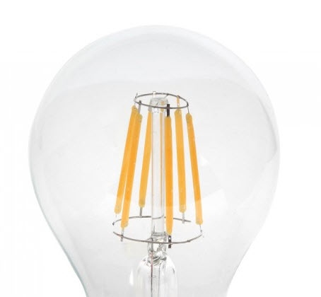 RETRO LED fillament globe bulb 8W