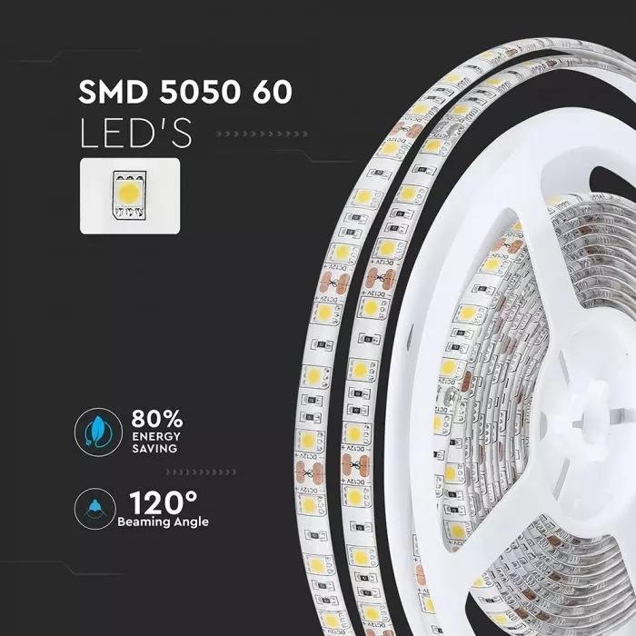 RGB SMD5050 60 10.8W LED STRIP IP65 waterdicht