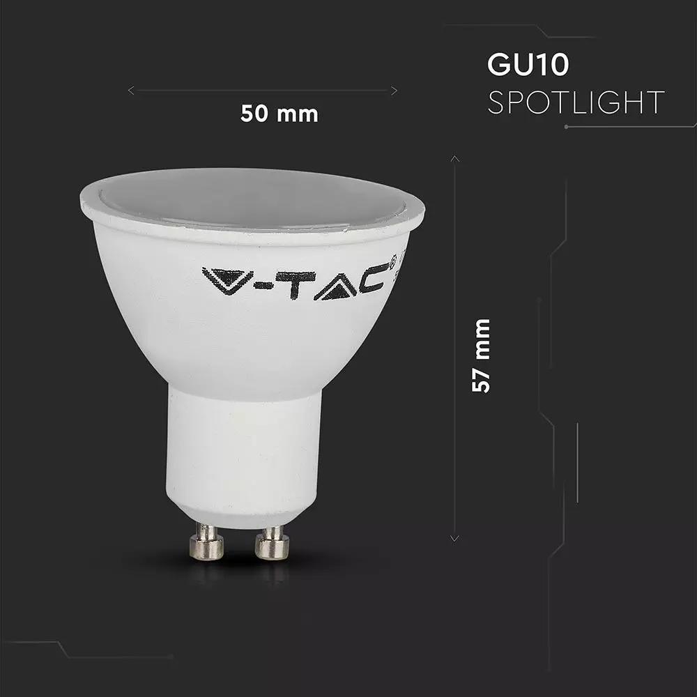 V-tac Smarthome LED Wifi spot 4.5W GU10 RGB CCT