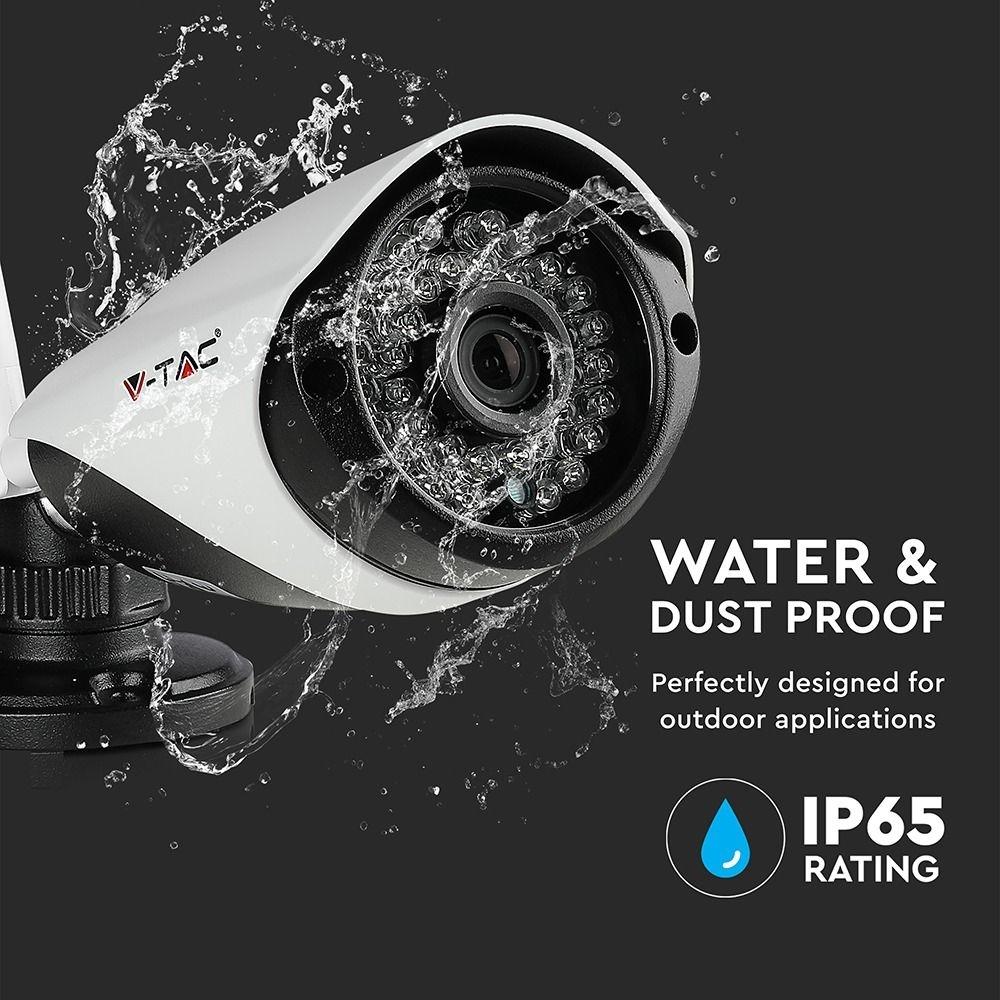 VT-5188 Draadloze camerasysteem - 4 camera's + NVR - 1080P
