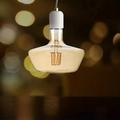 8W T180 LED FLAMENT BULB AMBER GLASS 2200K E27