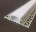 LED stucprofiel / gips profiel - 2 led strips achterbouw