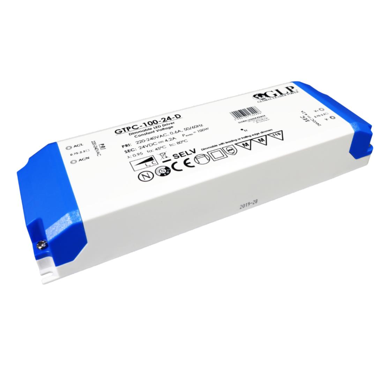 LED voeding 100W 24V DIMBAAR IP44