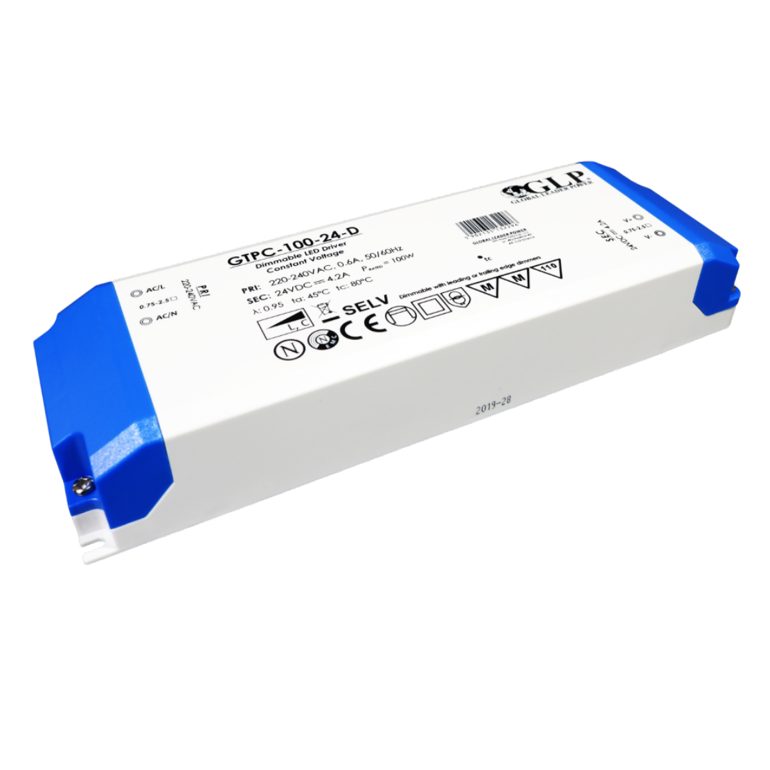 GLP PSU Triac dimmable driver 100W 24V IP44