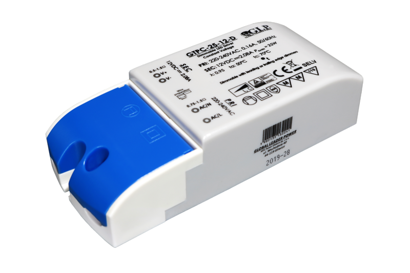GLP PSU Triac dimmable LED driver 12V 25W