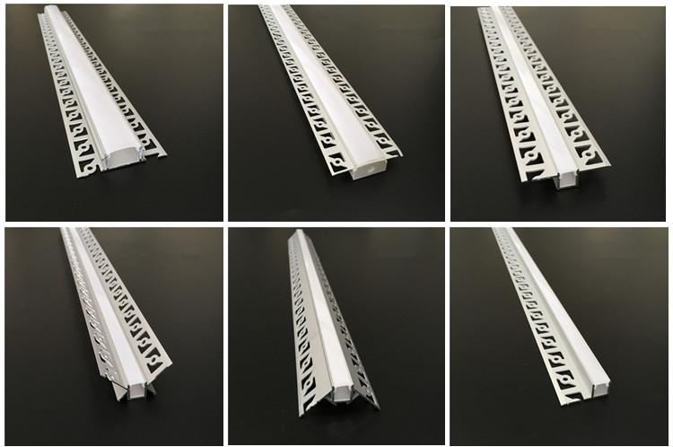 LED profiel voor stucwerk, gips plaat en tegels